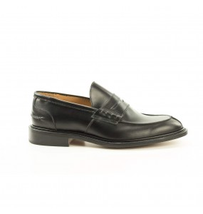 mod James, loafer, black calf, last w2298, fitting 5, leather sole